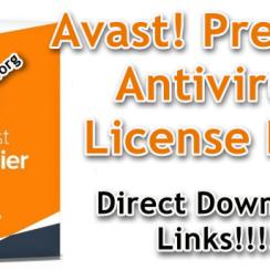 Avast! Premier Antivirus License Key