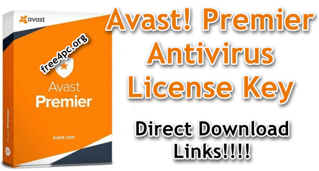 Avast! Premier Antivirus License Key