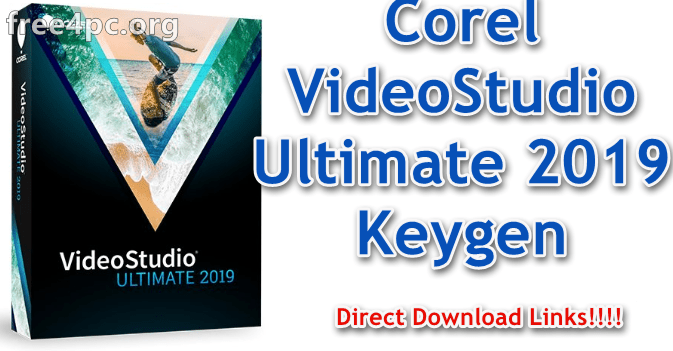 Corel VideoStudio Ultimate 2019 Keygen