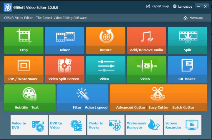 GiliSoft Video Editor 12.0.0 Crack