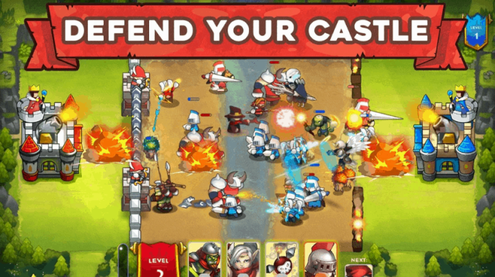King Rivals Free Strategy Games Ver. 1.1.6 MOD APK