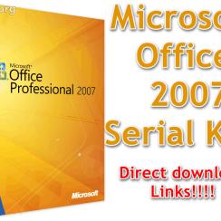 Microsoft Office 2007 Serial Key