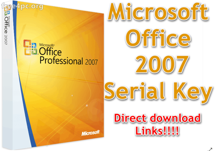 Microsoft Office 2007 Serial Key