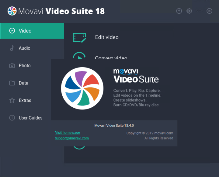 Movavi Video Suite 18.4.0 Crack
