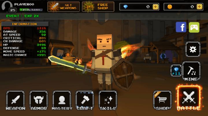 Pixel Blade - Season 3 v8.1 MOD APK