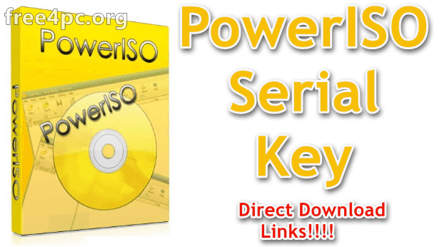 PowerISO Serial Key