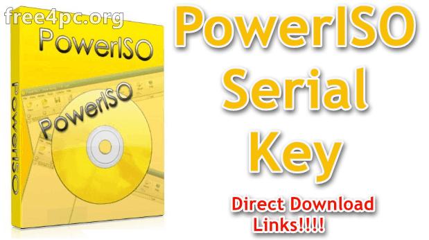 PowerISO Serial Key