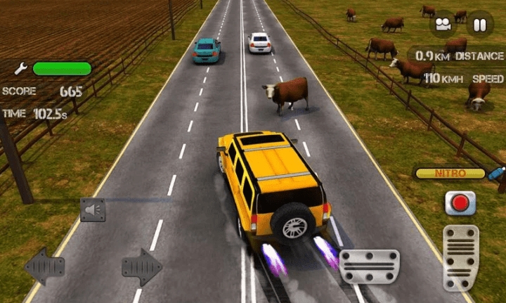 Race the Traffic Nitro v1.2.6 MOD APK