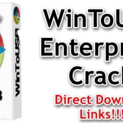 WinToUSB Enterprise Crack full version