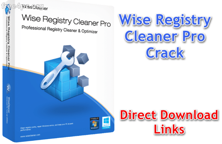 Wise Registry Cleaner Pro Crack [Full Version License Key]