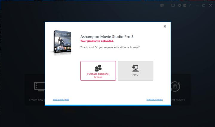 Ashampoo Movie Studio Pro 3.0.0 serial key
