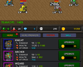 Grow Heroes Vip Idle RPG v4.8 MOD APK