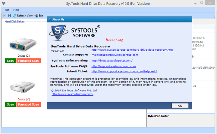 SysTools Hard Drive Data Viewer Pro 10.0.0.0 Crack