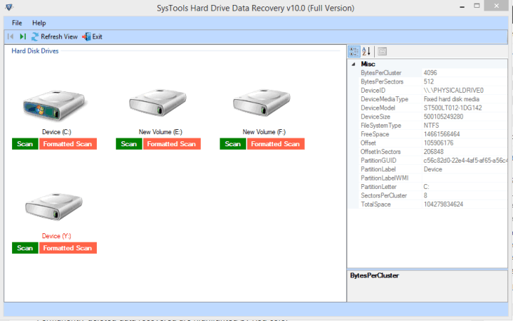 SysTools Hard Drive Data Viewer Pro 10.0.0.0 Key