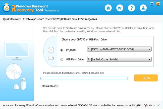 Windows Password Recovery Tool Professional Serial Key