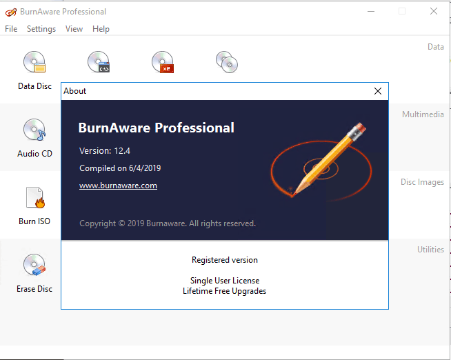 BurnAware Professional 12.4 With Crack [free4pc]