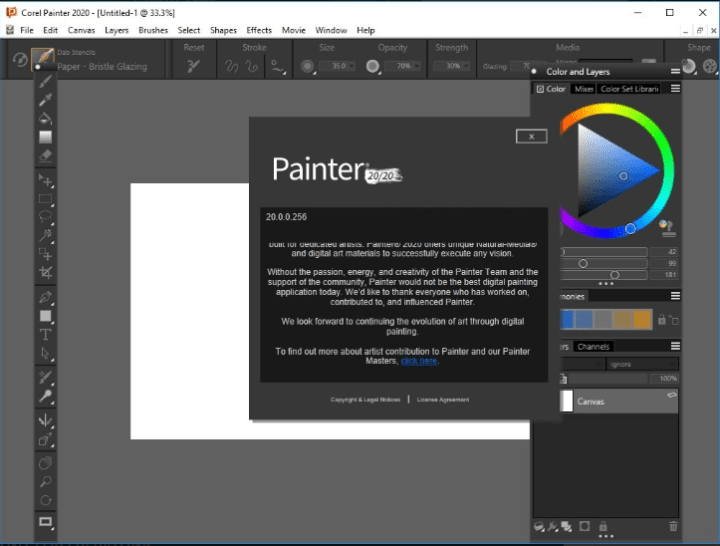 Corel Painter 2020 v20.0.0.256 Crack