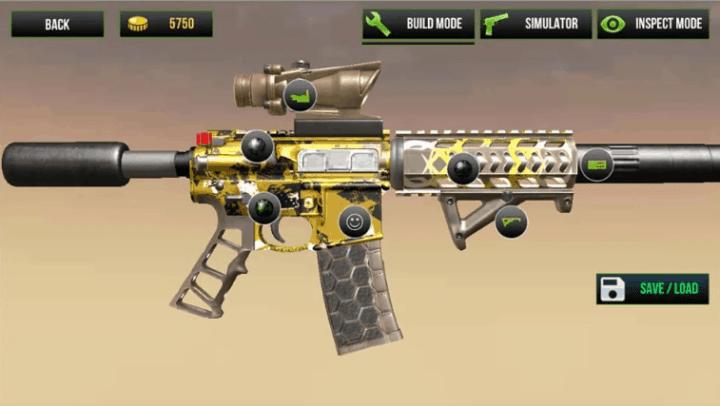Custom Gun Simulator 3D v3.2 MOD APK