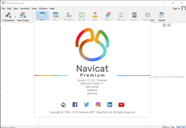 Navicat Premium 12.1.20 key