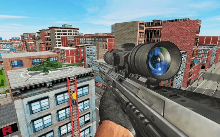 New Sniper Shooting 2019 v1.39 MOD APK