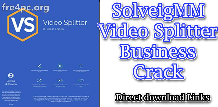 SolveigMM Video Splitter Busines Edition Crack
