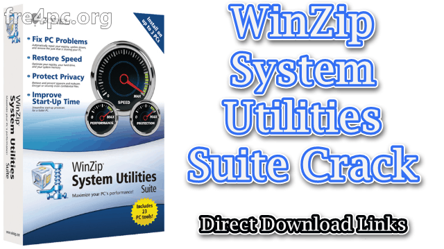 WinZip System Utilities Suite Crack
