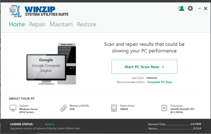 WinZip System Utilities Suite Download