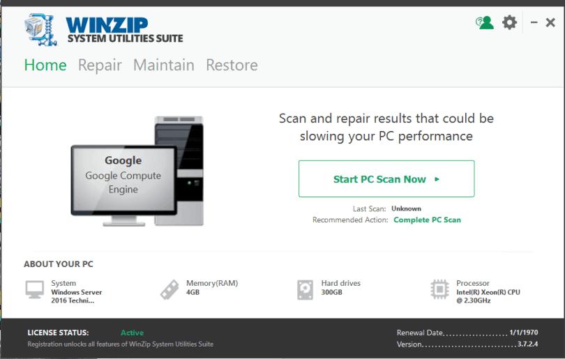 WinZip System Utilities Suite Download