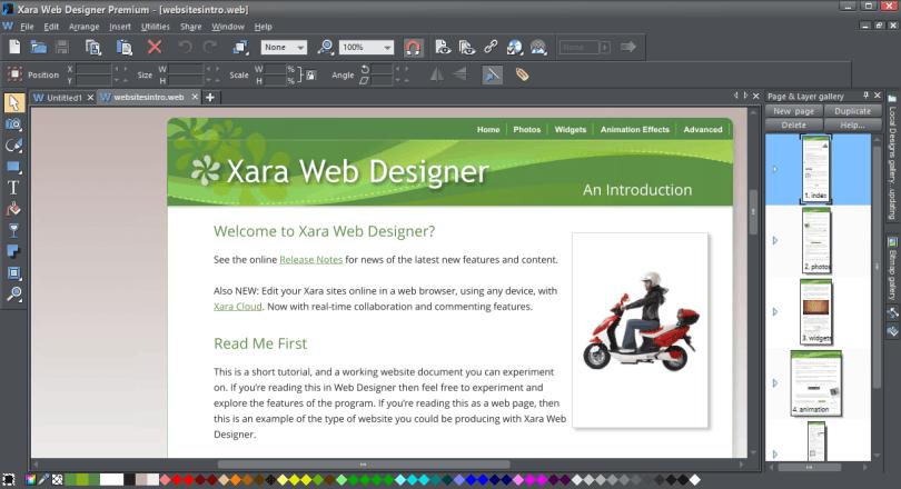 Xara Web Designer Premium 16.2.0.56957 Crack