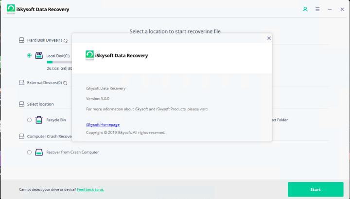 iSkysoft Data Recovery 5.0.0.9 Crack