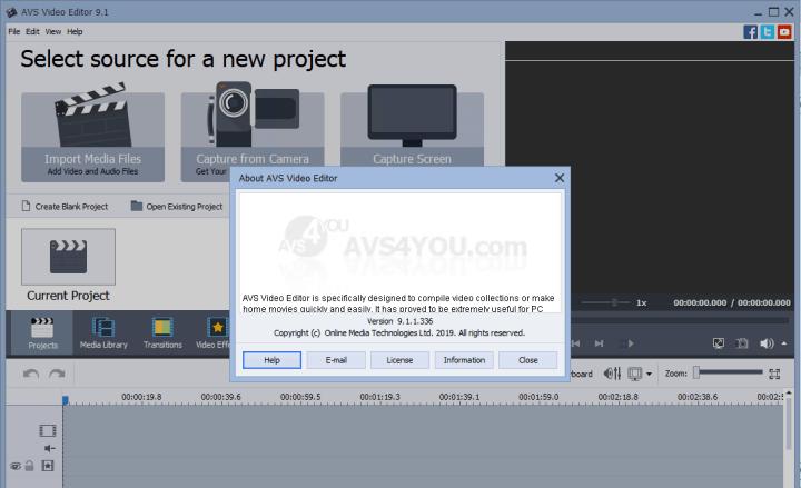 AVS Video Editor 9.1.1.336 Crack