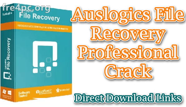 Auslogics File Recovery Professional Crack