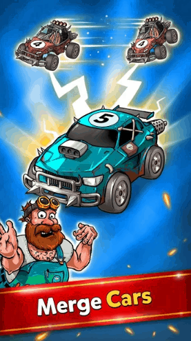 Battle Car Tycoon Idle Merge Arena v1.0.17 MOD APK