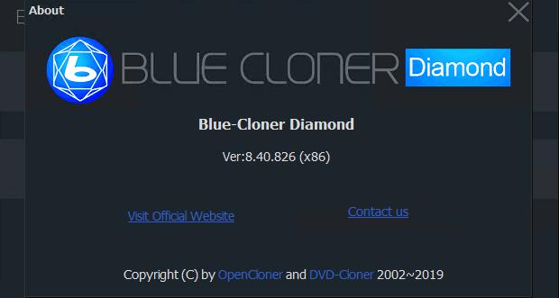 Blue-Cloner Diamond 8.40 Build 826 Crack