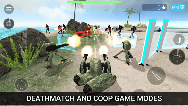 CyberSphere TPS Online Action Shooting Game v1.85 MOD APK