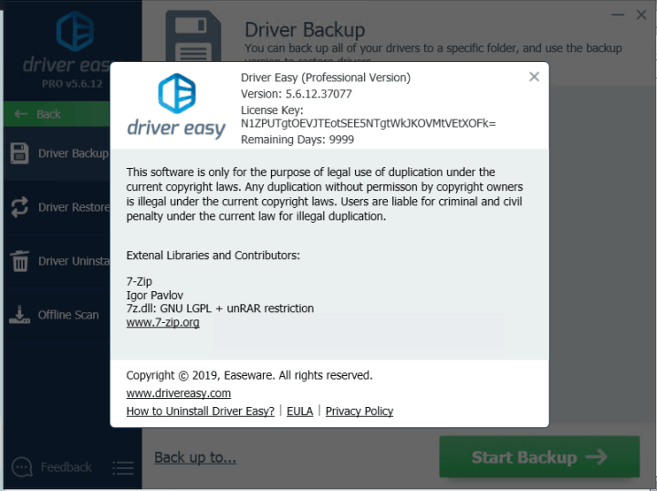 Driver Easy Professional 5.6.12.37077 License Key