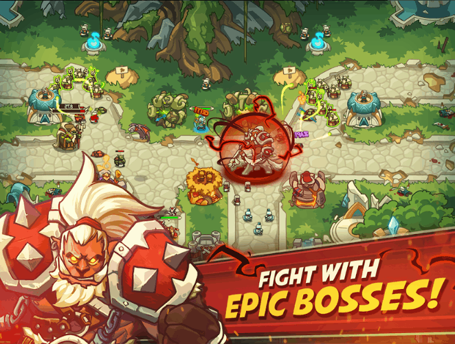 Empire Warriors Premium Tower Defense Games v0.9.1 MOD APK