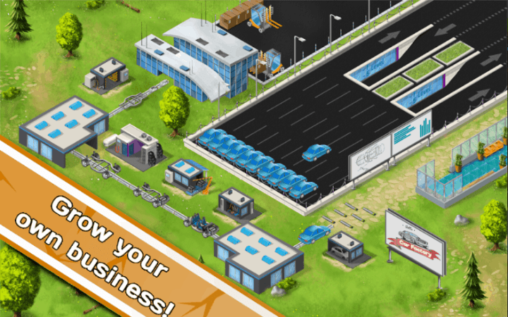 Idle Car Factory Car Builder Tycoon Game 2019 v12.4.5 MOD APK