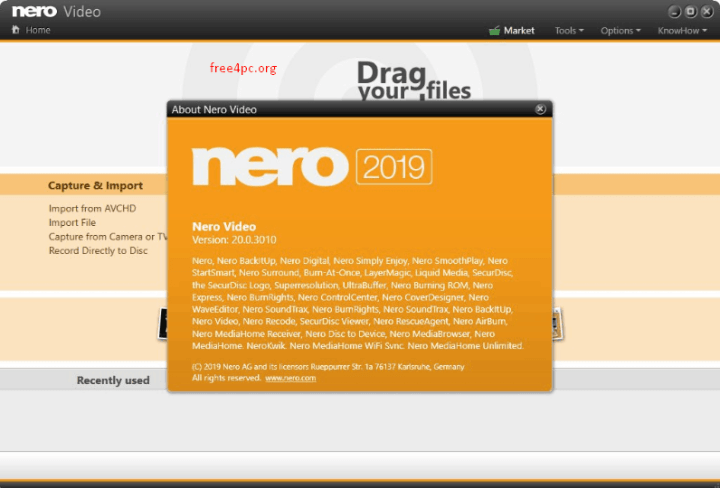 Nero Video 2019 v20.0.3010 Crack