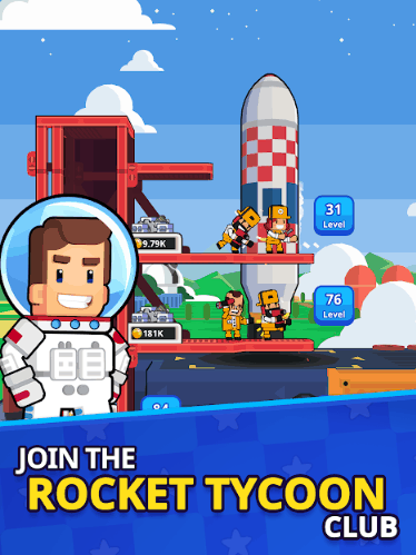 Rocket Star Idle Space Factory Tycoon Games V1 23 1 MOD APK