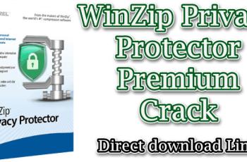 WinZip Privacy Protector Premium Crack