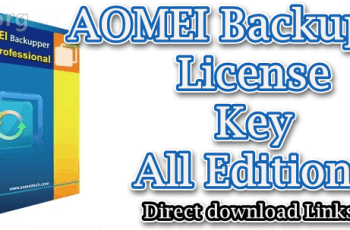 AOMEI Backupper License Key
