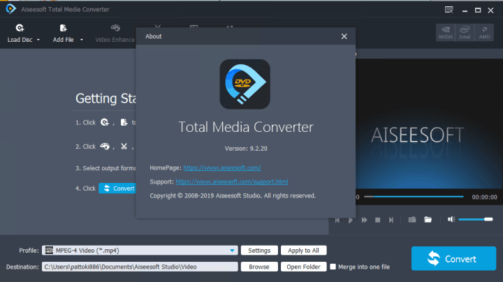 Aiseesoft Total Media Converter 9.2.20 Crack