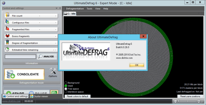 DiskTrix UltimateDefrag Crack