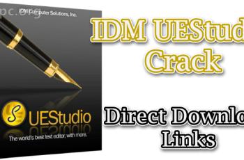 IDM UEStudio Crack