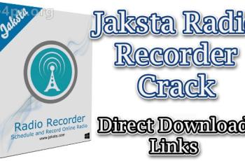 Jaksta Radio Recorder Crack
