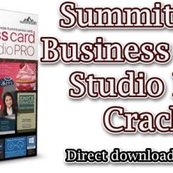 Summitsoft Business Card Studio Pro Crack