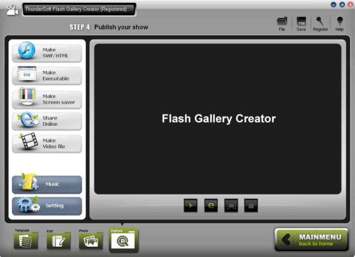 ThunderSoft Flash Gallery Creator 2.7.0 Crack