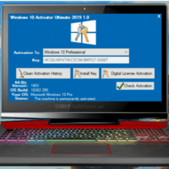 Windows 10 Activator Ultimate 2019 1.0 [Latest]