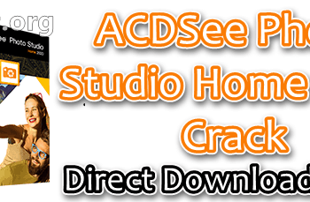 ACDSee Photo Studio Home 2020 Crack